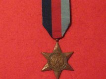 FULL SIZE 1939 1945 STAR MEDAL WW2 ORIGINAL MEDAL GVF