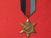 FULL SIZE 1939 1945 STAR MEDAL WW2 ORIGINAL MEDAL NEF