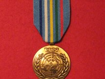 FULL SIZE UNITED NATIONS CENTRAL AFRICAN REPUBLIC CHAD MEDAL MINURCAT MEDAL