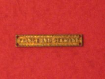 FULL SIZE FRANCE AND GERMANY CLASP BAR
