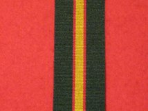 FULL SIZE ULSTER DEFENCE REGIMENT UDR SERVICE MEDAL RIBBON