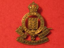ROYAL ARMY ORDNANCE CORPS RAOC CAP BADGE KC