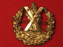 CAMERON HIGHLANDERS REGIMENT CAP BADGE