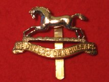 THE QUEENS OWN HUSSARS CAP BADGE