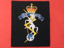 ROYAL ELECTRICAL MECHANICAL ENGINEERS REME BLAZER BADGE