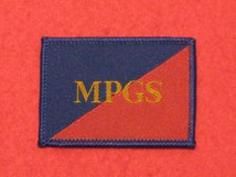 TACTICAL RECOGNITION FLASH BADGE MPGS TRF BADGE