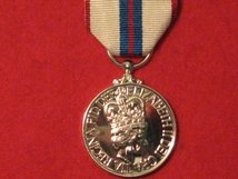 FULL SIZE QUEENS SILVER JUBILEE MEDAL 1977 REPLACEMENT MEDAL