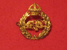 THE QUEENS BAYS - 2ND DRAGOON GUARDS CAP BADGE