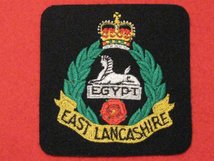 EAST LANCASHIRE REGIMENT BLAZER BADGE