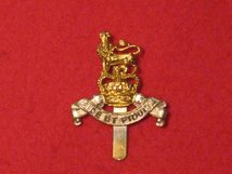 ROYAL ARMY PAY CORPS RAPC CAP BADGE QC