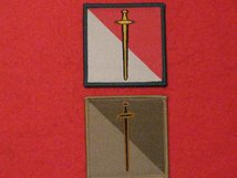 BRITISH ARMY 42ND INFANTRY BRIGADE NORTH WEST FORMATION BADGES SET OF 2