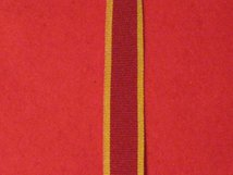 MINIATURE CHINA WAR 1860 MEDAL RIBBON