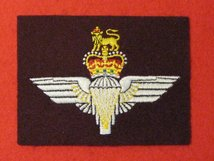 THE PARACHUTE REGIMENT MAROON BLAZER BADGE