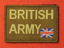 TACTICAL RECOGNITION FLASH BADGE BRITISH ARMY COYOTE TRF BADGE