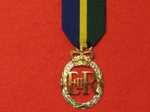 FULL SIZE EFFICIENCY DECORATION POST 1969 EIIR REPLACEMENT MEDAL