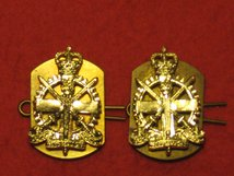 ARMY APPRENTICE CORPS MILITARY COLLAR BADGES