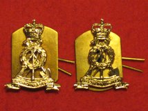 LABOUR CORPS MILITARY COLLAR BADGES