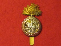 THE ROYAL NORTHUMBERLAND FUSILIERS REGIMENT CAP BADGE