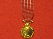 MINIATURE CANADA FORCES DECORATION EIIR MEDAL