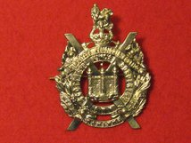 KINGS OWN SCOTTISH BORDERERS KOSB CAP BADGE KC