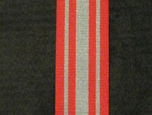 FULL SIZE COASTGUARD AUXILIARY LONG SERVICE MEDAL POST 2001 MEDAL RIBBON
