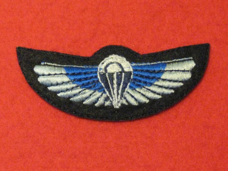 NUMBER 2 DRESS FAD SAS WINGS PADDED BADGE - Hill Military Medals
