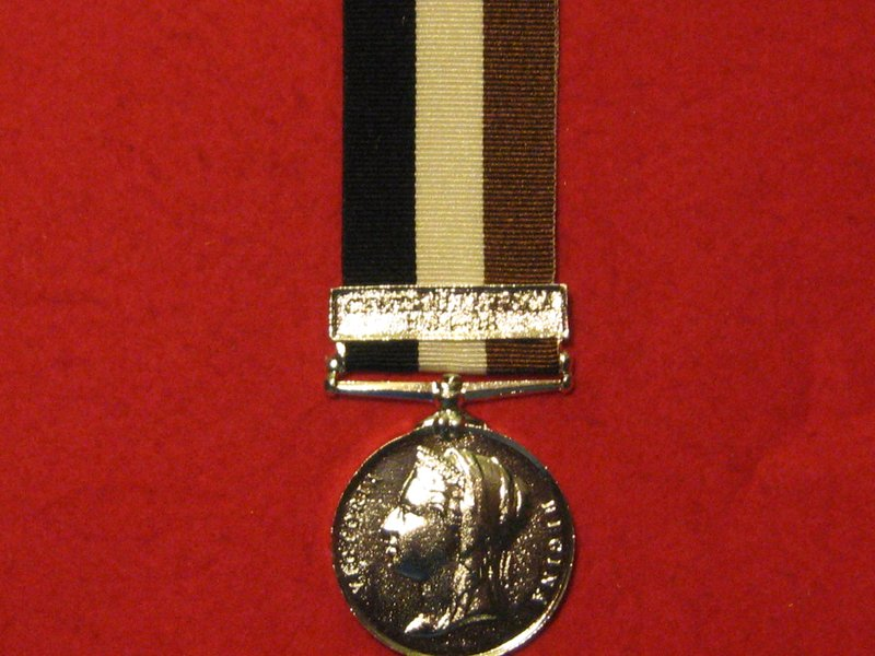 FULL SIZE CENTRAL AFRICA 1895 MEDAL MUSEUM STANDARD COPY