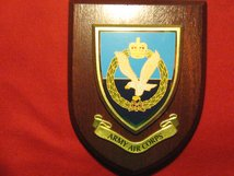 ARMY AIR CORPS REGIMENTAL WALL PLAQUE SHIELD