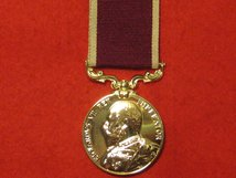 FULL SIZE ARMY LSGC LONG SERVICE GOOD CONDUCT MEDAL EDWARD VII REPLACEMENT MEDAL