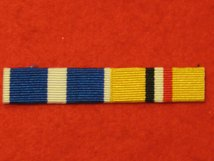 NATO KOSOVO - OP TELIC IRAQ MEDAL RIBBON SEW ON BAR