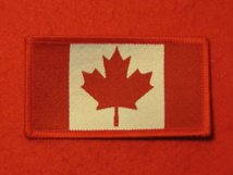CANADA CANADIAN FLAG BADGE