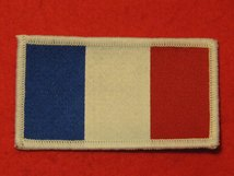 FRANCE FRENCH FLAG BADGE