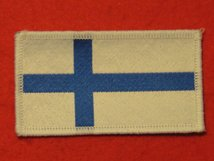 FINLAND FINNISH FLAG BADGE
