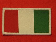 ITALY ITALIAN FLAG BADGE