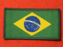 BRAZIL BRAZILIAN FLAG BADGE