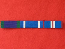 GSM CSM NI AND NATO FORMER YUGOSLAVIA AND GOLDEN JUBILEE RIBBON SEW ON BAR