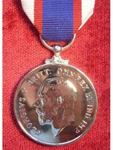 FULL SIZE ROYAL FLEET RESERVE LONG SERVICE MEDAL GV COINAGE HEAD REPLACEMENT MEDAL