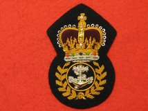ROYAL NAVY CHIEF PETTY OFFICERS CAP BADGE