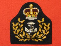 ROYAL NAVY WARRANT OFFICERS CAP BADGE