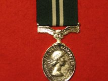 FULL SIZE AIR EFFICIENCY MEDAL MUSEUM STANDARD COPY MEDAL WITH RIBBON