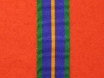 FULL SIZE ACCUMULATED CAMPAIGN SERVICE MEDAL PRE 2011 MEDAL RIBBON