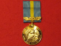 FULL SIZE COMMEMORATIVE HONG KONG SERVICE MEDAL