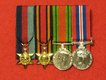 Miniature Court Mounted Medals
