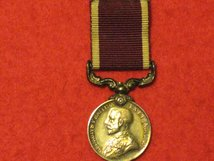 MINIATURE ARMY LSGC MEDAL LONG SERVICE GOOD CONDUCT MEDAL GV UNCROWNED CONTEMPORARY GF