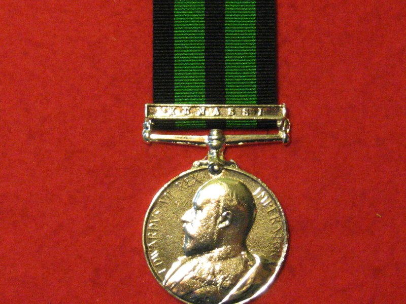 FULL SIZE ASHANTI MEDAL 1901 WITH KUMASSI CLASP MEDAL MUSEUM