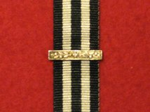 MINIATURE SERVICE MEDAL ORDER OF ST JOHN 2ND BAR AWARD CLASP.  CLASP ONLY