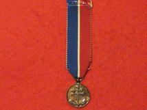 MINIATURE FRANCE FRENCH RESISTANCE MEDAL 1940 1970 CONTEMPORARY MEDAL GF