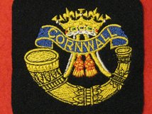 DUKE OF CORNWALL LIGHT INFANTRY BLAZER BADGE