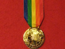 FULL SIZE COMMEMORATIVE OPERATION OVERLORD MEDAL
