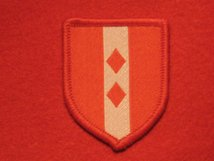 BRITISH ARMY 2ND INFANTRY BRIGADE FORMATION BADGE RED
